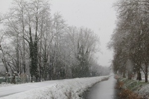 Dordogne in the Snow!