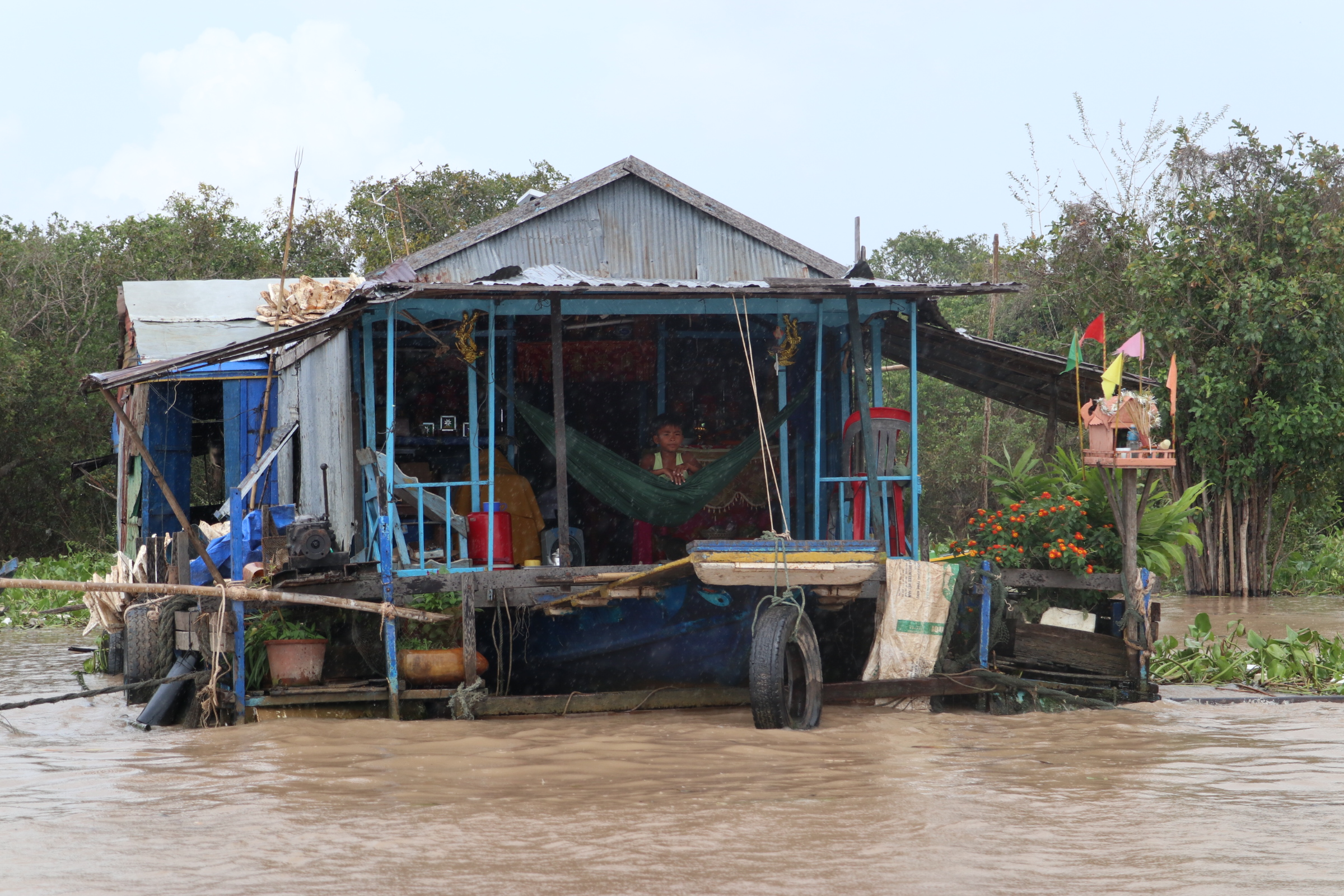 Cambodian side Trip – floating village