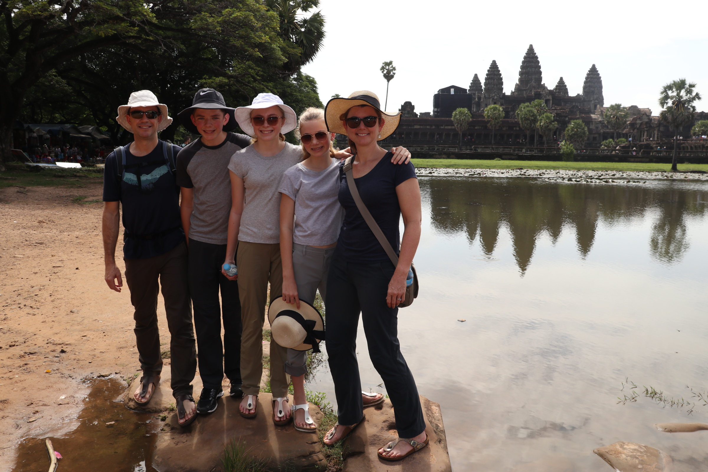 Cambodian side trip – Temples